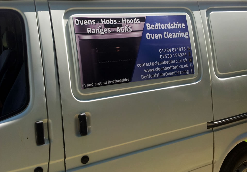 Oven Cleaners Van And Sign